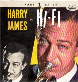 Harry James in Hi Fi w Helen Forrest Capitol EAP 1 654 1956 Jazz EX
