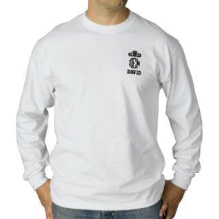 Añada su propio nombre e iniciales a esta totalmente camisa bordada