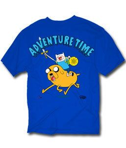 Adventure Time with Finn Jake Finn Riding Jake Charge T Shirt Licensed