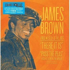 James Brown Live at The Apollo 7 inch Vinyl Vinyl