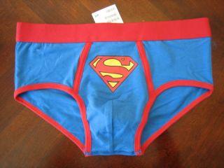 Auentic H M Superman Briefs Mens Underwear Sizes XS s or L