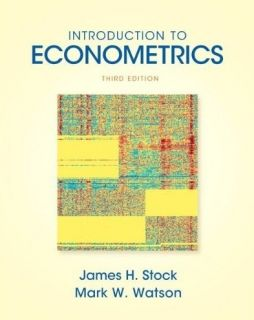 Introduction to Econometrics 3E James H Stock Watson 3rd International