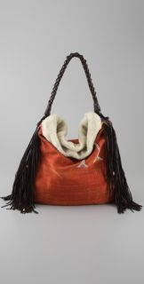 En Shallah Burnt Orange Tapestry Bag