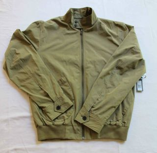 Marc Jacobs Men RARE Olive Green Patch Pocket Windbreaker Jacket Coat