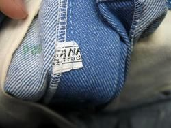 vintage james dean blue jeans denim pants / original label never worm