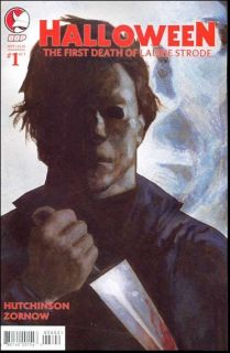 HALLOWEEN 1 COMIC BOOK JAMIE LEE CURTIS MICHAEL MYERS DEATH OF LAURIE