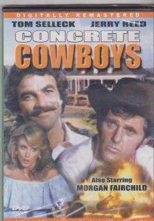 The Concrete Cowboys DVD 2000 Tom Selleck Morgan Fairchild Jerry Reed