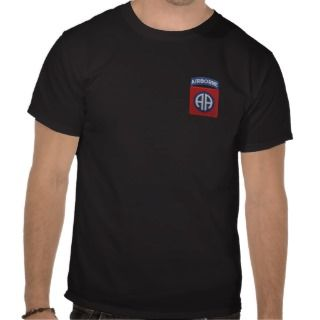 82nd Airborne Patch T shirt