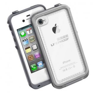 New CLEAR / WHITE, This is 100% Lifeproof Brand iPhone case 4/4S Life