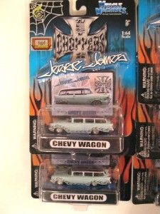Muscle Machines Jesse James Import Tuner Die Cast Car Lot of 8 New