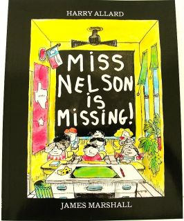 Miss Nelson Is Missing James Marshall Funny Kids Story Picture Book