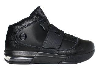 Nike Zoom Soldier IV Lebron James Black Mens Mid Top Basketball Shoes