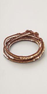 Chan Luu Mother of Pearl Mix Wrap Bracelet
