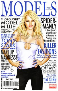 Models Inc 1 Mary Jane Watson Comic Book Marvel