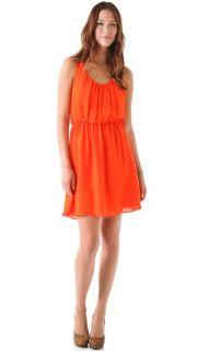alice + olivia Franny V Neck Tank Dress