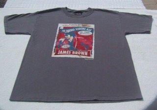 James Brown Zion Rootswear Large T Shirt Funk Soul