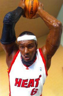 Custom McFarlane NBA Miami Heat Lebron James Basketball Figure
