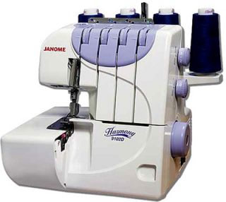 Janome 9102 Serger Sewing Machine Table New