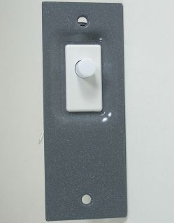 Electric Closet Pantry Door Jamb Jam Light Switch 502A Gray Grey
