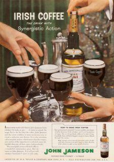 1964 John Jameson Irish Whiskey Synergistic Print Ad