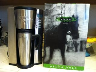 Starbucks Barista Aroma Solo Single Cup Coffee Brewer