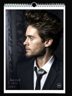 30 Seconds to Mars Jared Leto 2013 Wall Holiday Calendar