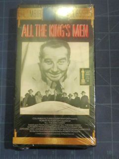All The Kings Men New VHS Video Broderick Crawford