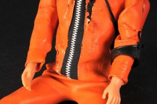 Vintage James Bond Ideal Action Doll Dive Suit Tank Gun