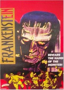 Frankenstein 1931 James Whale Beware Movie Poster