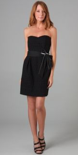 DKNY Strapless Dress with Sweetheart Neckline