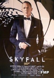 Skyfall James Bond 007 Daniel Craig Original Large French Movie Poster