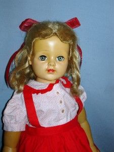 29 Madame Alexander Cloth Vinyl 1952 Barbara Jane Doll 1952