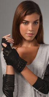 Mackage Opal Fingerless Leather Gloves