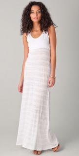 So Low Shadow Striped Maxi Dress