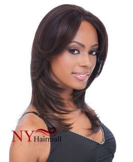 Sensationnel Empress Lace Front Wig Synthetic Hair Jane