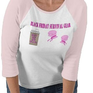 BLACK FRIDAY survival gear Tshirt