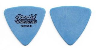 Ozzy Osbourne Jason Newsted Blue Bass Guitar Pick 2003 Ozzfest Tour