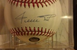 Willie Mays Signed Autographed Official MLB Baseball with COA
