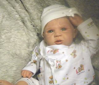 Meet JAX A Real Reborn Doll Baby Boy Tory Sculpt by Michelle Fagan