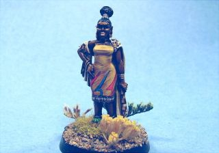 Ral Partha Painted Miniature Sexy African Queen