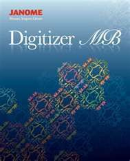 Janome Embroidery Software Digitizer MB Version 3 0