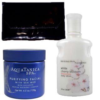 Bath and Body Works Gift Set White Cherry Blossom Lotion Aquatanica