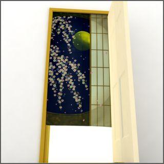 New Japanese Style Door Window Curtain Japan Door Sakura Noren 150cm x