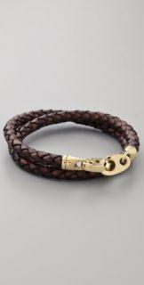 Sailormade Endeavour Leather Wrap Bracelet