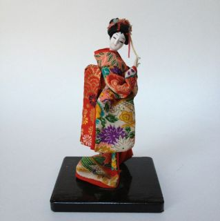 Vintage Asian Oriental Chinese Japanese Geisha Woman Figurine