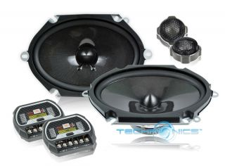 JBL GTO8608C 6x8 420W Max 2 Way Grand Touring Component Car Speakers