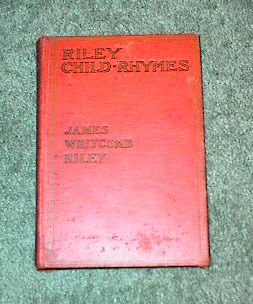 Riley Child Rhymes by James Whitcomb Riley HB 1905