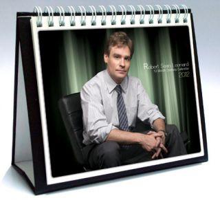 Leonard 2012 Desktop Holiday Calendar House Dr James Wilson