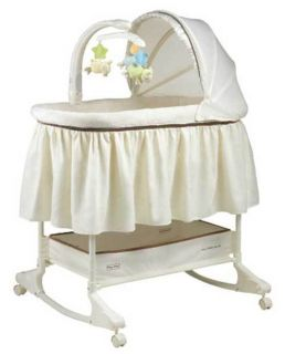Bassinet with Mobile My Little Lamb by Fisher Price