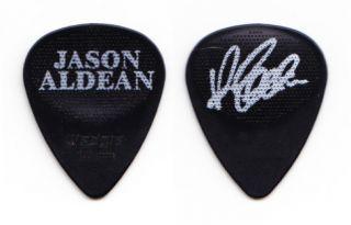 Jason Aldean Signature Black Tour Guitar Pick